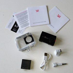 YI 4K Camera Box Content